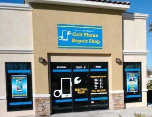 custom storefront sign panel